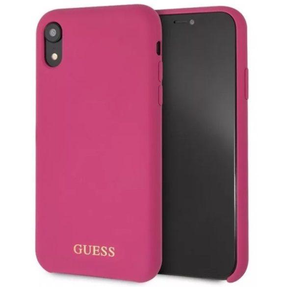 Guess Tok Pink (GUHCI65LSGLPI) Apple iPhone Xs Max készülékhez