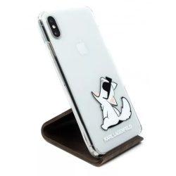 Karl Lagerfeld tok Átlátszó (KLHCI65CFNRC) Apple Iphone XS Max készülékhez