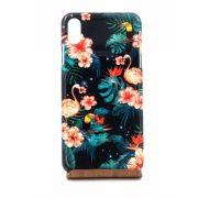 CR - iPhone XS Max Trópusi mintás műanyag telefontok