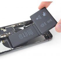 iPhone X akkumulátor csere