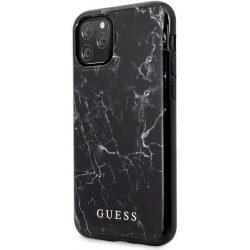 Guess hátlapi márvány mintás szilikon tok - iPhone 11 Pro  készülékhez