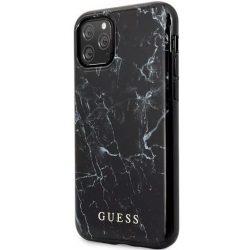 Guess hátlapi márvány mintás szilikon tok - iPhone 11 Pro Max készülékhez