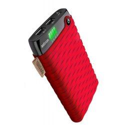 Astrum piros tűzálló power bank LED kijelzővel 10000mAh PB100M2A RD