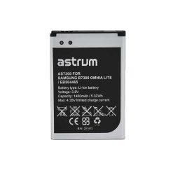 Astrum AS7300 Samsung EB504465VU kompatibilis akkumulátor 1500mAh (i8910 Omnia HD, S8500 Wave)
