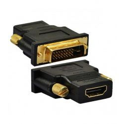 Astrum PA250 DVI - HDMI adapter fekete (passzív)