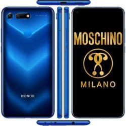Honor View 20 Moschino Edition DS 256GB Fontom Fekete (Phantom Black)
