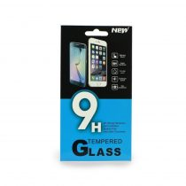 Huawei P20 Lite 9H 0.33mm 2.5D kijelzővédő üvegfólia - (fekete/kék dobozos)