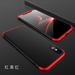 GKK 360 full protection 3in1 Iphone X Piros-Fekete