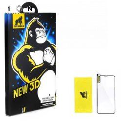 Type Gorilla - iPhone 6/6S Plus 3D Kijelzővédő Üvegfólia - Fekete