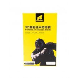 Type Gorilla - iPhone 8 Plus prémium 3D Hátlapi Üvegfólia - Fekete