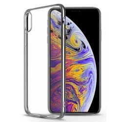 Devia - Glimmer Apple iPhone XS Max hátlap - silver