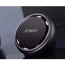 JOWAY - ZJ15 Mágneses Szellőzőbe Helyezhető Illatosítós Autós Telefon Tartó - Fekete