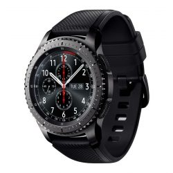 SAMSUNG Gear S3 Frontier R760 (SM-R760NDAA) okosóra - fekete