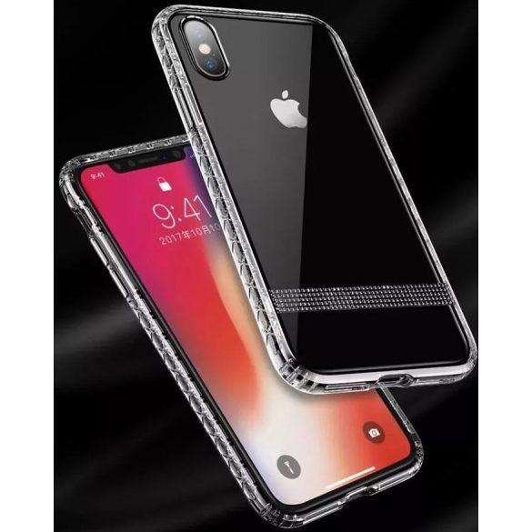 JOYROOM - JR-BP488 iPhone X/XS Crystal Armoured Series Case Tok - átlátszó