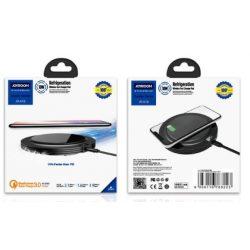 JOYROOM - JR-A16 Cooler QC 3.0 Wireless Charger Asztali Töltő - Fekete