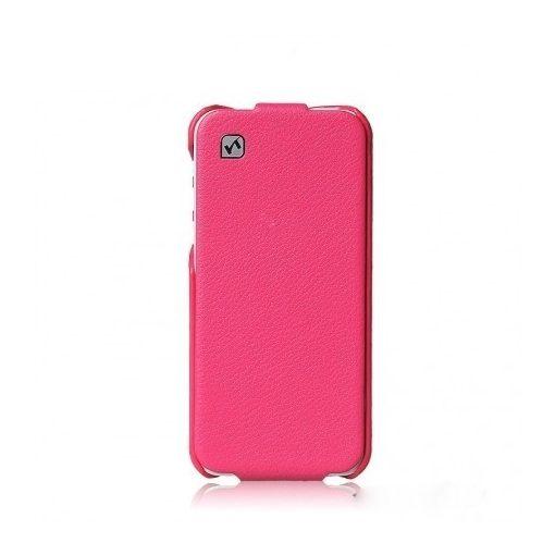 Hoco - Duke series bőr Samsung Note3 flip tok - rozéarany