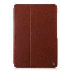 Hoco - Crystal series bőr Samsung Tab Pro 12.2 SM-T900 tablet tok - barna