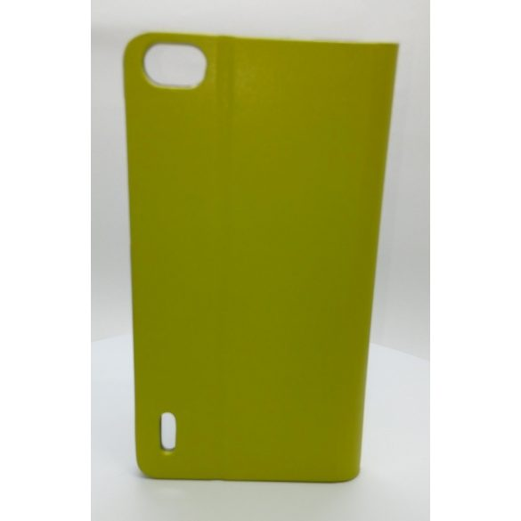 Hoco - Flash series bőr Huawei Honor 6 könyv tok - zöld