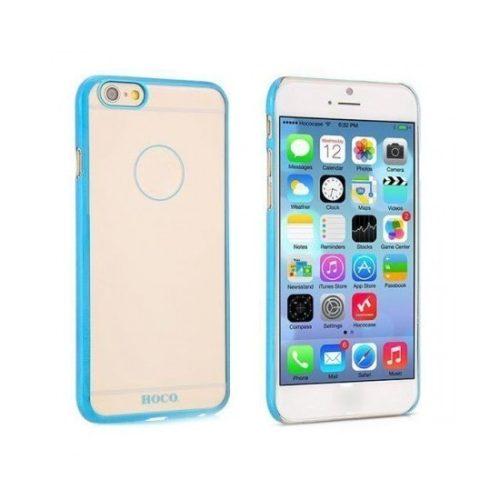 Hoco - Defender series fényes keretes iPhone 6/6s kemény tok - kék