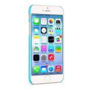 Hoco - Defender series fényes keretes gofri mintás iPhone 6/6s kemény tok - kék