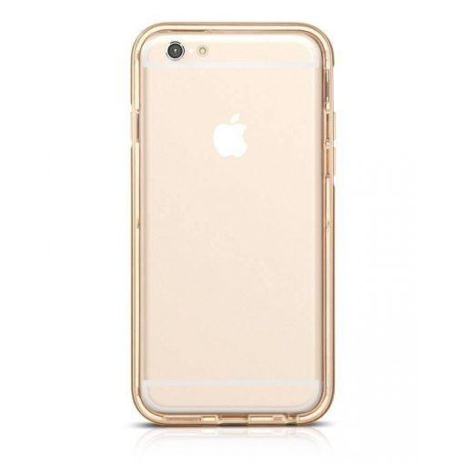 Hoco - Ster series fényes keretes két részes hibrid iPhone 6/6s tok - arany