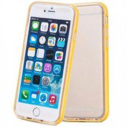 Hoco - Ster series fényes keretes két részes hibrid iPhone 6/6s tok - sárga