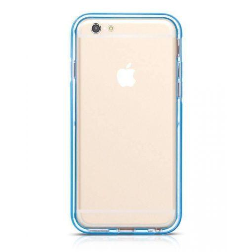 Hoco - Ster series fényes keretes két részes hibrid iPhone 6/6s tok - kék