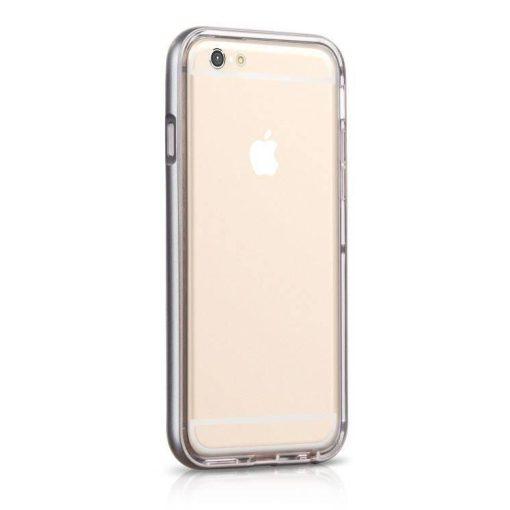 Hoco - Ster series fényes keretes két részes hibrid iPhone 6/6s tok - szürke