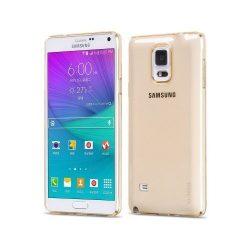 Hoco - Light series ultra vékony Samsung Note 4 tok - arany