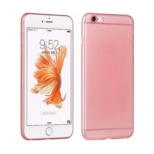 Hoco - Ultra thin series ultra vékony dokkolható iPhone 6plus/6splus tok - rozéarany