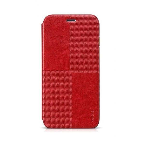 Hoco - Crystal series fashion bőr iPhone 6plus/6splus könyv tok - piros