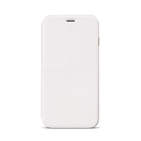 Hoco - Crystal series fashion bőr iPhone 6plus/6splus könyv tok - fehér