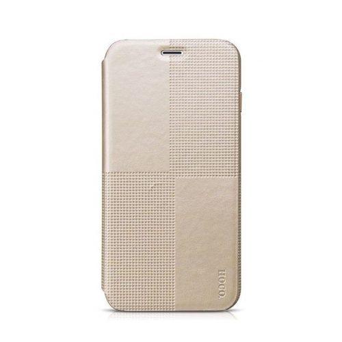 Hoco - Crystal series fashion bőr iPhone 6plus/6splus könyv tok - arany
