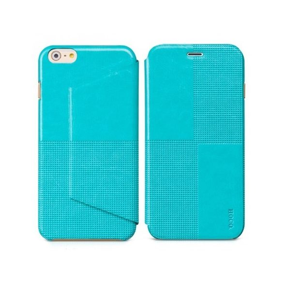 Hoco - Crystal series fashion bőr iPhone 6plus/6splus könyv tok - kék
