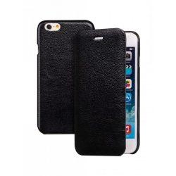 Hoco - Premium series bőr bankkártya tartós iPhone 6/6s könyv tok - fekete