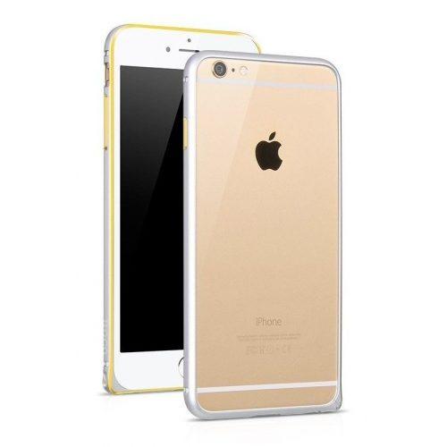 Hoco - Blade series csavaros rögzítésű iPhone 6plus/6splus fém keret (bumper) - ezüst