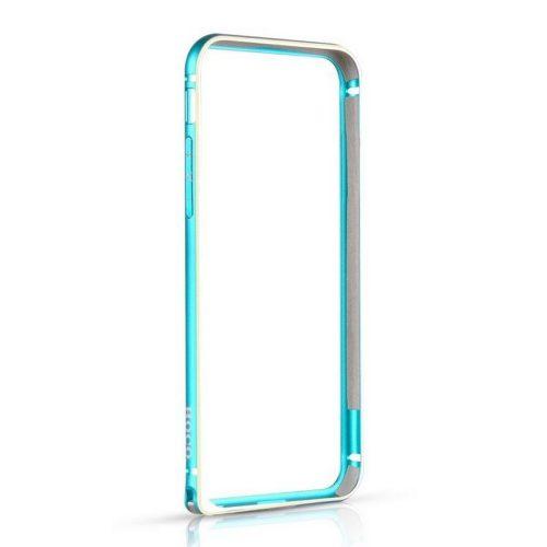 Hoco - Blade series csavaros rögzítésű iPhone 6plus/6splus fém keret (bumper) - kék