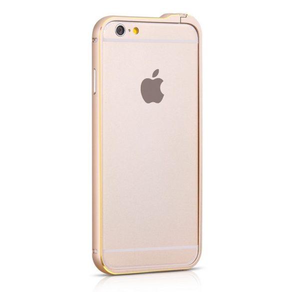 Hoco - Blade series Fedora csavaros rögzítésű iPhone 6plus/6splus fém keret (bumper) - arany