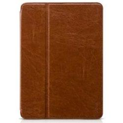 Hoco - Crystal series classic bőr iPad Air 2 tablet tok - barna