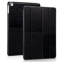 Hoco - Crystal series bőr iPad Air 2 tablet tok - fekete