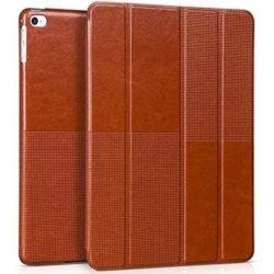Hoco - Crystal series bőr iPad Air 2 tablet tok - barna