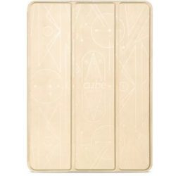 Hoco - Cube series nyomott mintázatú  iPad Air 2 tablet tok - arany