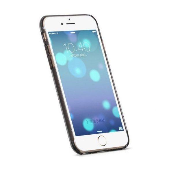 Hoco - Black series fém hatású iPhone 6plus/6splus tok - ezüst