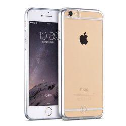 Hoco - Black series Fresh matt fémhatású keretes iPhone 6plus/6splus tok - ezüst