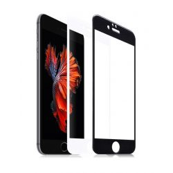 Hoco - Ghost series Full Original iPhone 6plus/6splus kijelzővédő üvegfólia - fekete
