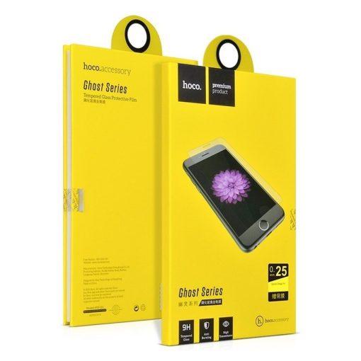 Hoco - Ghost series prémium Huawei P7 kijelzővédő üvegfólia 0.25 - átlátszó