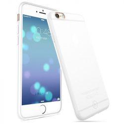 Hoco - Light series Frosted ultra vékony iPhone 6/6s tok - fehér