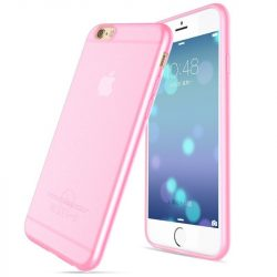 Hoco - Light series Frosted ultra vékony iPhone 6/6s tok - pink