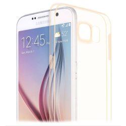 Hoco - Light series ultra vékony Samsung S6 tok - arany