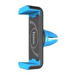 Hoco - CPH01 szellőzőrácsra tehető rugós telefontartó max 90 mm szélességig - kék